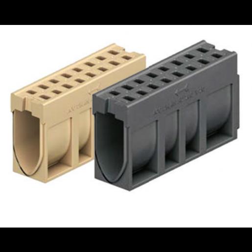 Element de rigola Monoblock RD 200 fara panta prefabricata 100x26x53