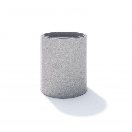 Element de baza cu jgheab D 130 di 100 g 15 cm
