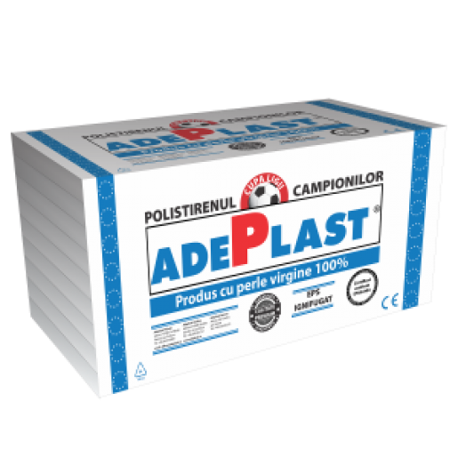 Polistiren expandat Adeplast EPS 120, 100x50x3 cm