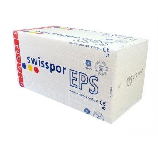 Polistiren expandat Swisspor EPS 80 F, 100x50x3 cm