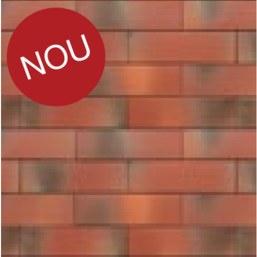 Coltar klinker Terca Armis Garnet Red 21.5x6.5x0.9 cm