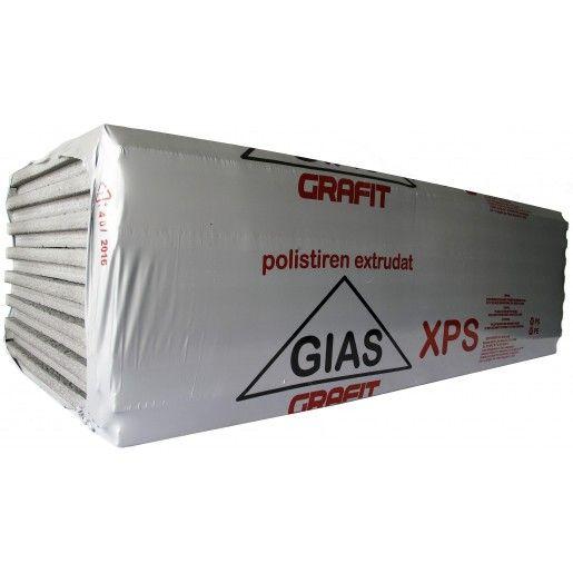 Polistiren extrudat Briotherm Gias Grafit XPS 40, 125x58x4 cm