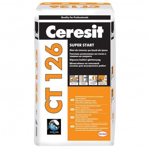 Glet Ceresit CT 126, Alb, 20 kg