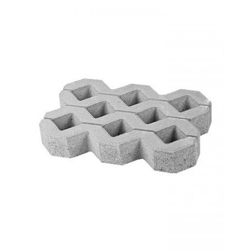 Grila 2 60x40x10 cm, Ciment