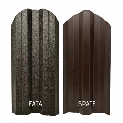 Set 25 buc/3 ml Sipca Metalica Gard Hi-Mat Structurat Maro Inchis 0.50 mm