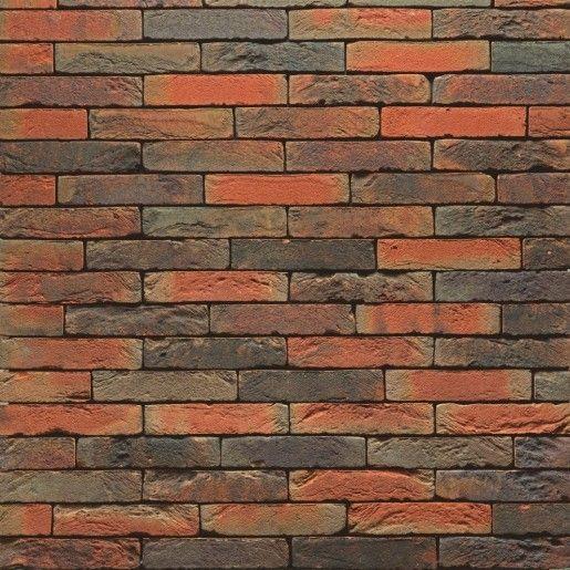 Caramida aparenta Terca Pagus Iluzo Rood-Bruin, 23.8x9x4.8 cm