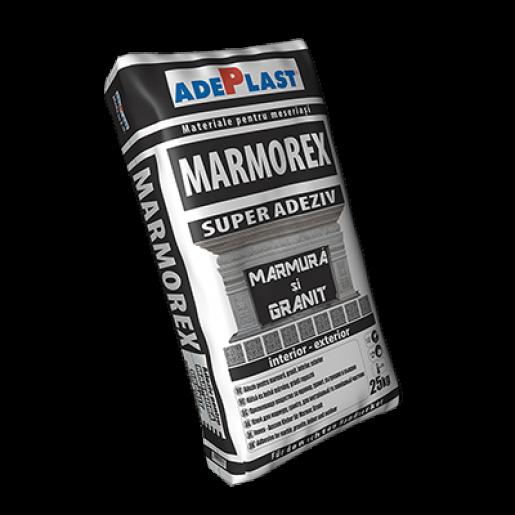 Mortar Adeplast Marmorex pentrumarmura, granit si greso-granit, 25 kg