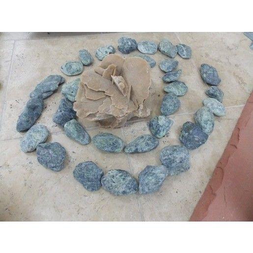 Marmura Rotunjita Verde 4-8 cm, Big Bag 1500 kg