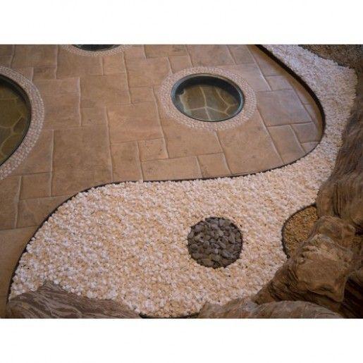 Marmura Rotunjita Alba Thassos 1-3 cm, Sac 20 kg