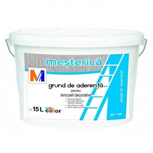 Grund de aderenta Mesterica pentru tencuieli decorative exterioare, 15 L