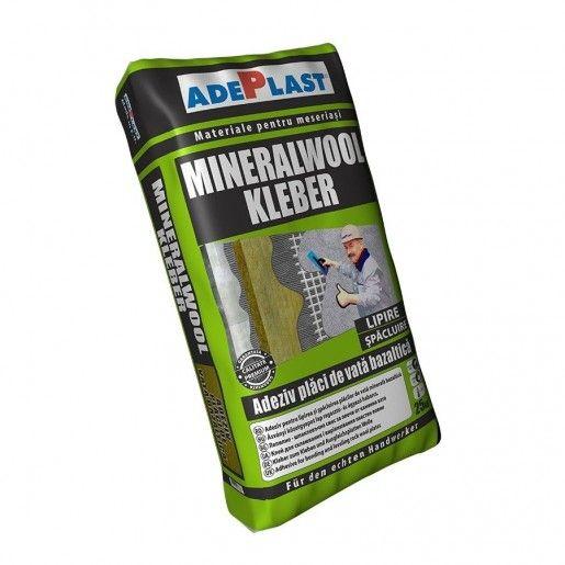 Adeziv Adeplast Mineralwool Kleber pentru vata minerala, Gri, 25 kg