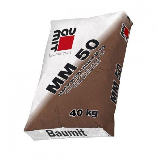 Mortar pentru zidarie M50, 40 kg