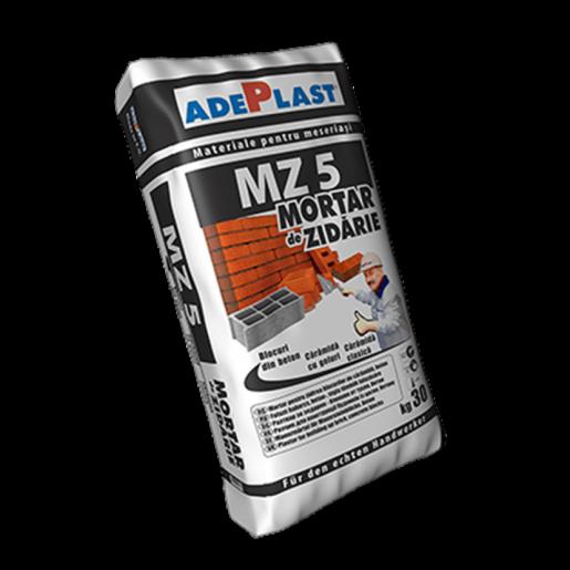 Mortar Adeplast MZC 50 pentruzidireablocurilordinbetonsicaramida, 30 kg
