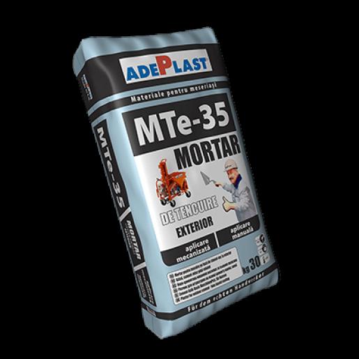 MortarAdeplast Mte 35 cuaplicare manuala/mecanizata, 30 kg