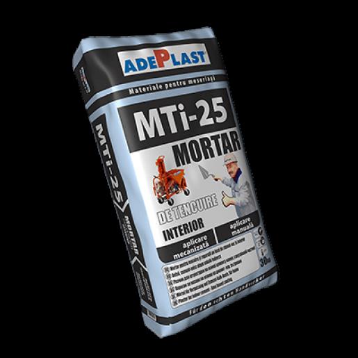 Mortar Adeplast MTI 25 cu aplicare manuala/mecanizata, 30 kg