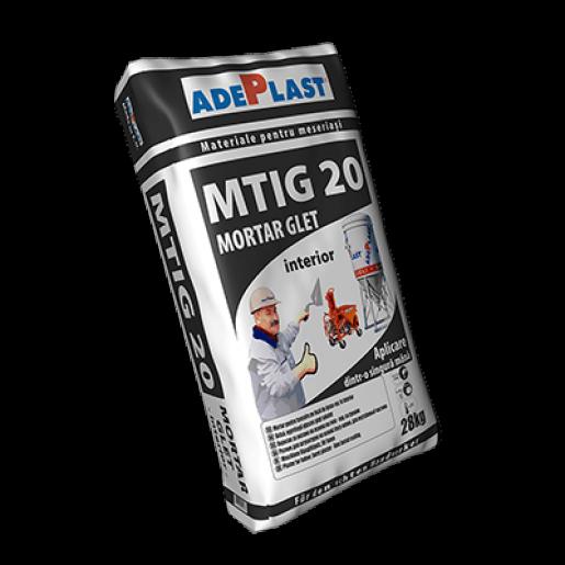 Mortarglet Adeplast MTIG 20 pentru tencuiala, 30 kg