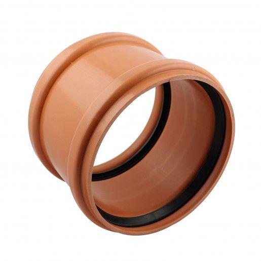 Mufa reparatie PVC cu inel etansare D125