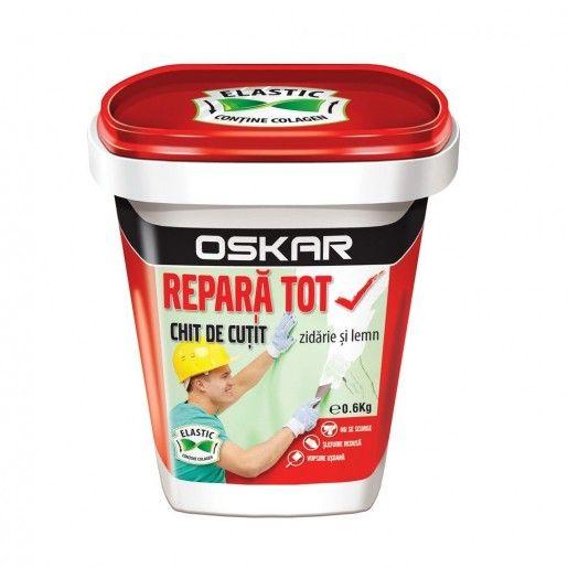 Chit de cutit Oskar Repara Tot, Alb, 0.6 kg