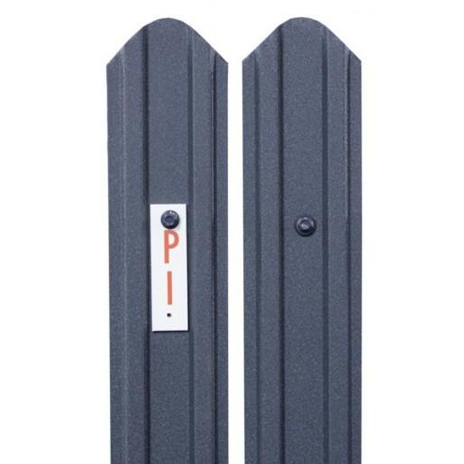 Sipca metalica gard Model Standard 2D Gri Mat, 0.45 mm