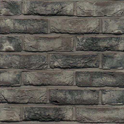 Placaj klinker Terca Pagus Grijs-Zwart, 21.5x6.5x2.3 cm
