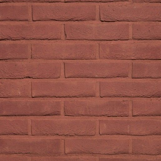 Coltar klinker Terca Pagus Donkerrood, 21.5x6.5x2.3 cm
