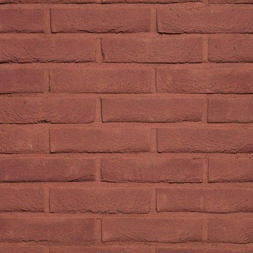 Coltar mic klinker Terca Pagus Donkerrood, 18.5x6.5x2.3 cm