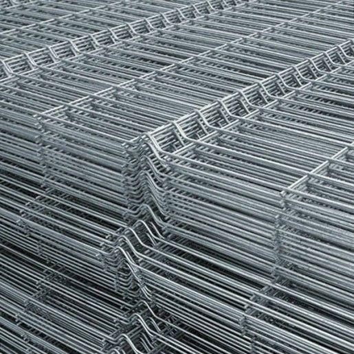 Panou bordurat zincat pentru gard 250x100x0.38 cm