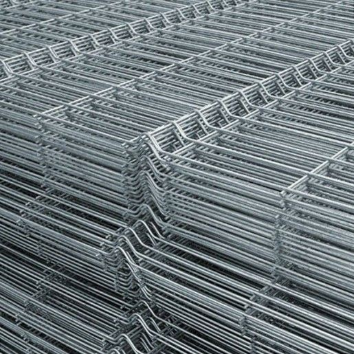 Panou bordurat zincat pentru gard 250x120x0.38 cm