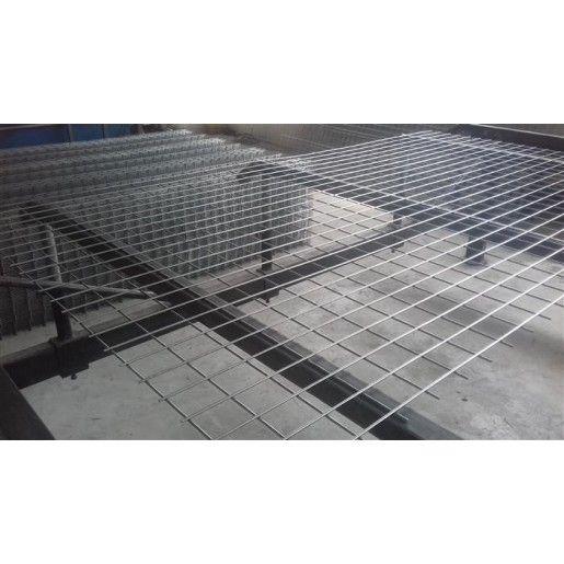 Panou drept tip grilaj 3.4x60x60 mm 1.5x2 m