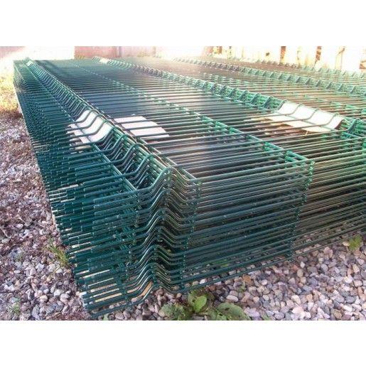 Panou zincat si plastifiat, Verde 3.9 mm 1.7x2 m