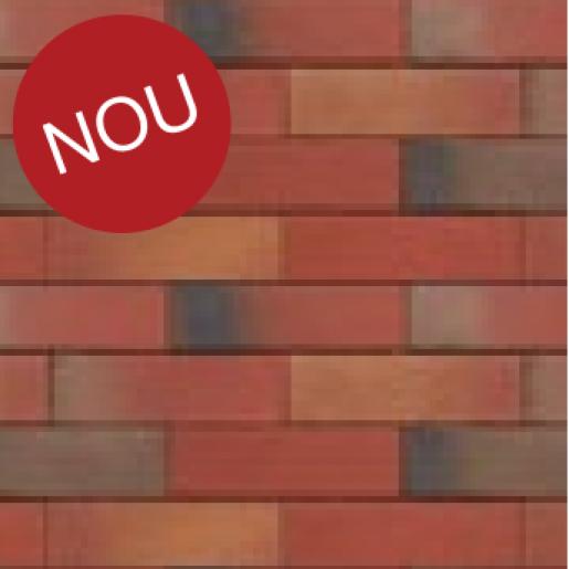 Placaj klinker Terca Pelaris Peru Red 21.5x6.5x1.4 cm
