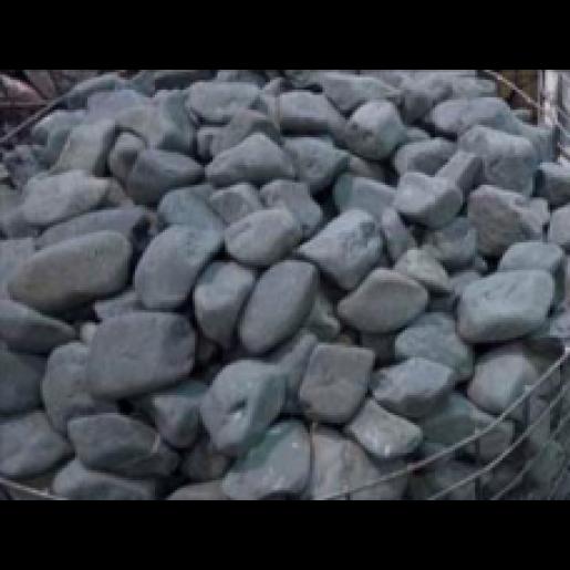Piatra Rotunjita Gri 4-10 cm, Big Bag 1500 kg