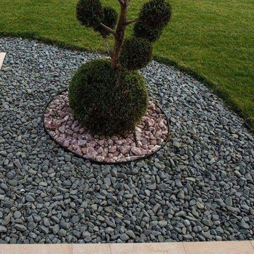 Piatra Rotunjita Neagra 1-3 cm, Sac 20 kg