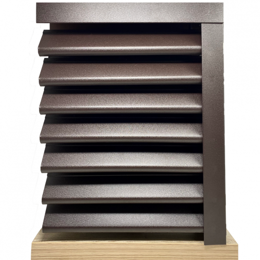 Panou gard Piramida, profil cu clipse 250x149x0.045 cm Mat BGM