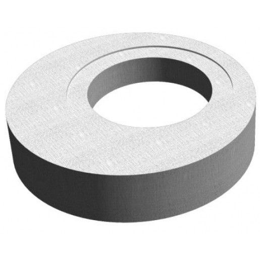 Placa de reductie de acoperire camin din beton armat fara capac inglobat D 124 di 100/61 h 20 H 27 cm