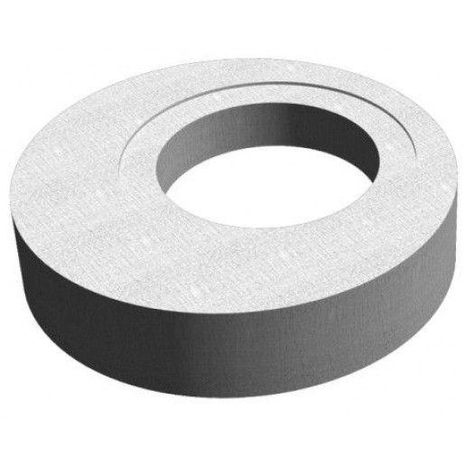 Placa de reductie de acoperire camin din beton armat fara capac inglobat D 130 di 100/61 h 20 H 27 cm