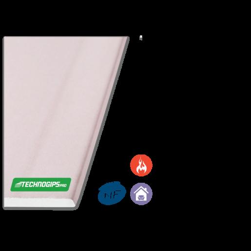 Placa gips carton Techno F 260x120x1.25 cm