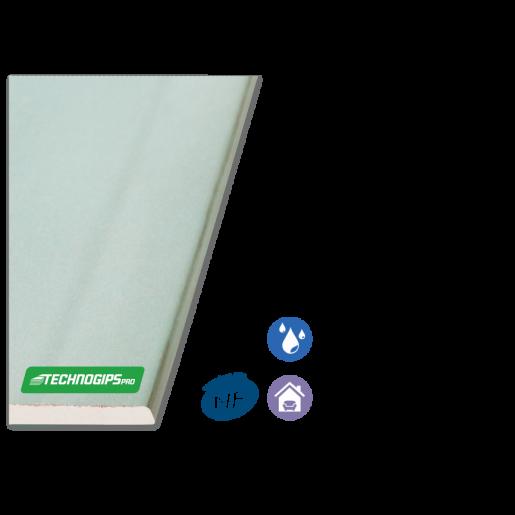 Placa gips carton Techno H 260x120x1.25 cm