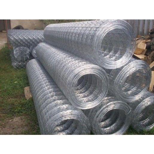 Plasa gard sudata zincata 1.6x55x75 mm x 2x20 m