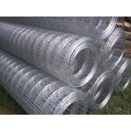 Plasa gard sudata zincata 1.6x55x75 mm x 1.5x20 m