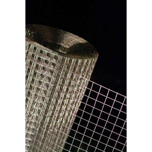 Plasa sudata zincata in rola 1.3x25x50 mm x 1x30 m
