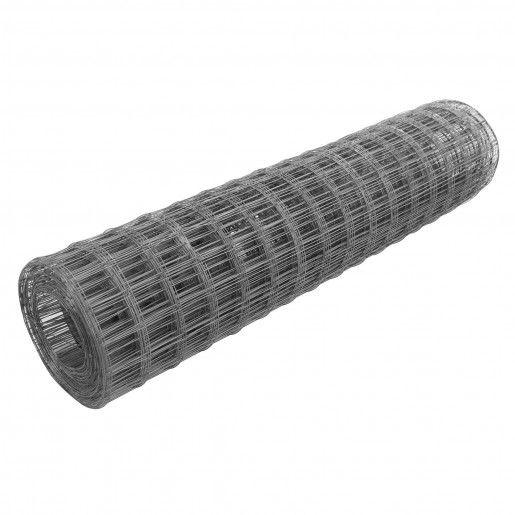 Plasa patrata zincata 1000x170x0.2x(5x5) cm ROL