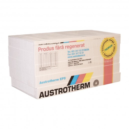 Polistiren expandat Austrotherm EPS A100, 100x50x10 cm