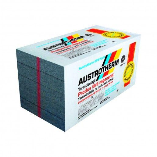 Polistiren expandat Austrotherm EPS AF PLUS (Grafitat), 100x50x2 cm