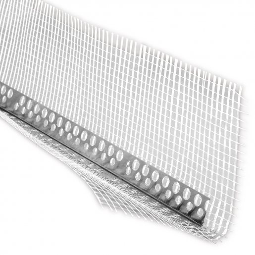 Profil de colt din aluminiu cu plasa 250x10x10 cm