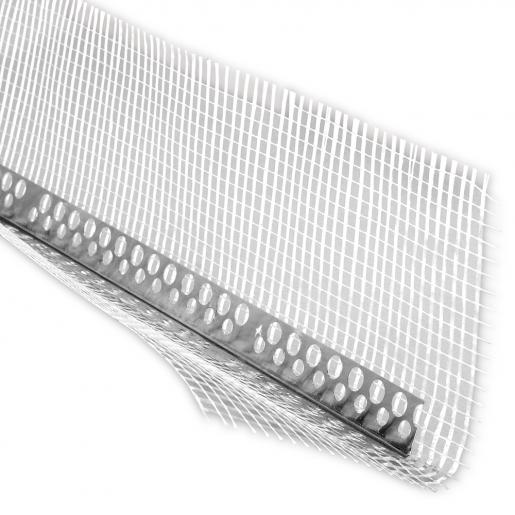 Profil de colt din aluminiu cu plasa 300x10x10 cm