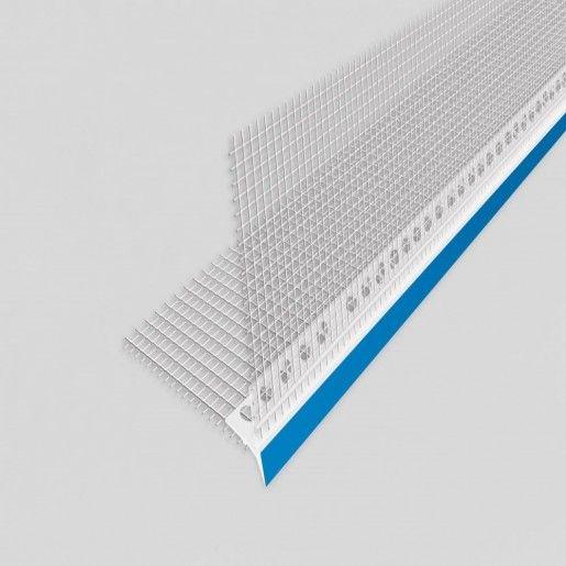 Profil de colt PVC, 300 cm, cu plasa 2x10 cm, 20 mm PROF