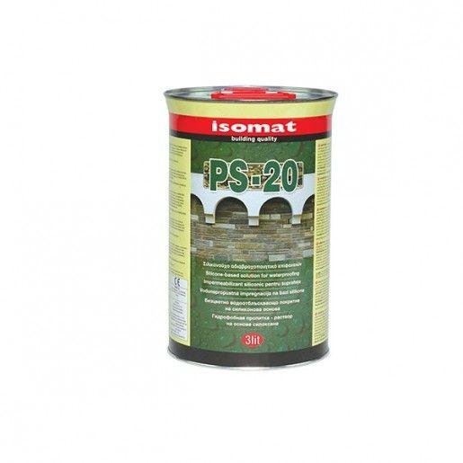 Impermeabilizant siliconic pentru suprafete PS 20, 3l