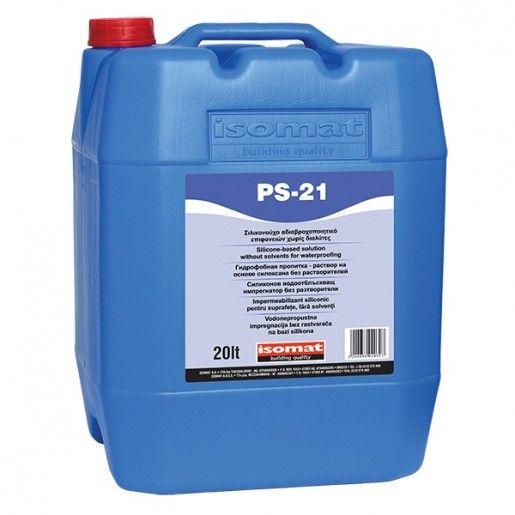 Impermeabilizant siliconic pentru suprafete fara solventi PS 21, 20l