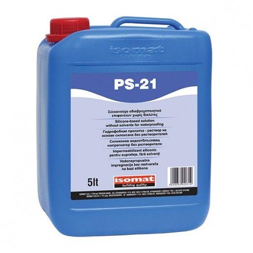 Impermeabilizant siliconic pentru suprafete fara solventi PS 21, 5l